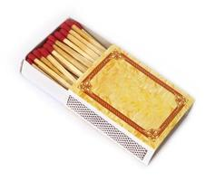 fiammiferi in una scatola di fiammiferi