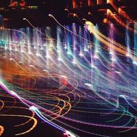 sfondo colorato astratto. fotografia di pittura leggera. foto di freezelight.