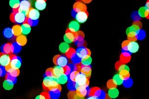 luci festive foto