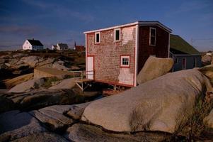 capannone di pesce a Peggy's Cove