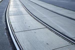 binario del tram a vienna