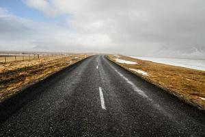 la strada islandese