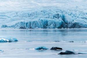 jökulsárlón è un grande lago glaciale nel sud-est dell'Islanda