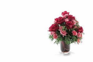 vaso di rose foto