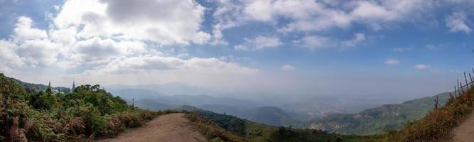 paesaggio a kew mae pan, thailandia