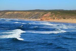 spiaggia di bordeira, costa vicentina, algarve, portogallo