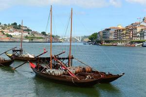 rabelo boat, porto, portogallo