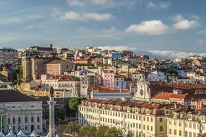 vista sul centro di Lisbona
