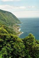 faja dos vimes, isola di sao jorge, azzorre, portogallo