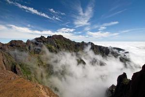 sopra le nuvole a Madeira