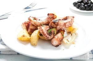 polpo alla lagareiro un piatto tipico portoghese