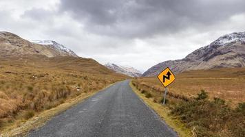 strada attraverso l'irlanda