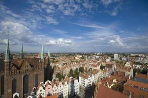 città vecchia di Danzica