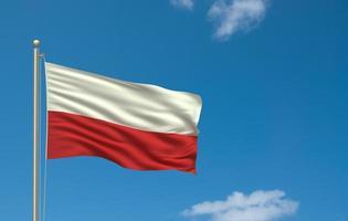 bandiera della polonia