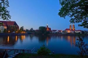isola di tumsk, wroclaw, polonia