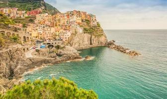 manarola stadt in italien