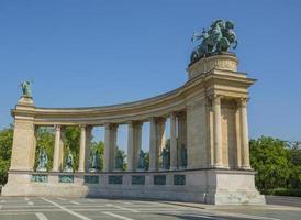 piazza degli eroi a budapest foto