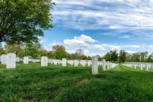 cimitero del cimitero di arlington foto