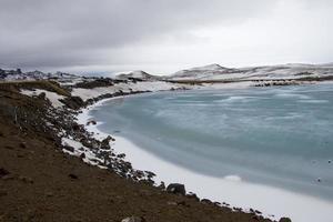 krysuvik, islanda foto