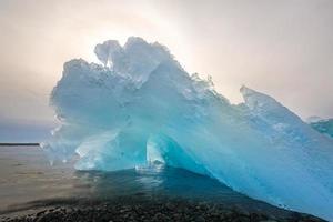 Iceberg Beach Jokulsarlon Islanda