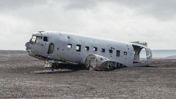 relitto di aeroplano trovato nel sud dell'Islanda