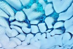 dettaglio della grotta di ghiaccio foto
