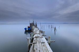 molo di pesca artigianale di carrasqueira foto