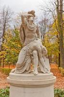tancredi e clorinda statua (copia del 1791) a varsavia, polonia