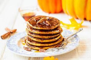 Pancakes di zucca