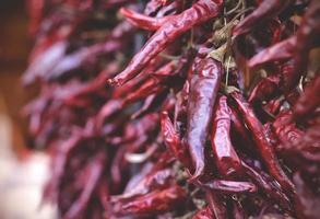 peperoni rossi tradizionali ungheresi