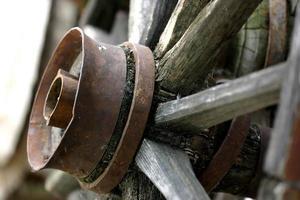 ruota di legno foto