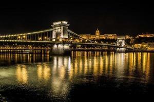 ponte delle catene e castello di buda