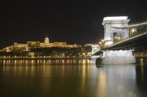 castello di budapest e ponte delle catene, ungheria
