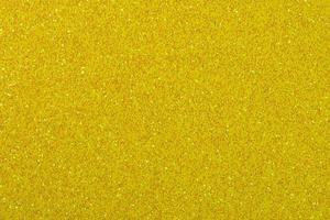 sfondo di carta glitter giallo scuro