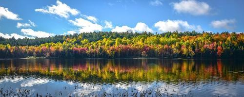 fine settembre e autunno sul lago.