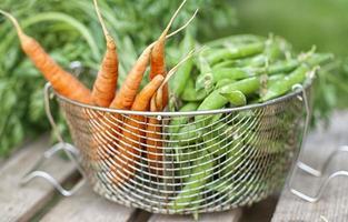 carote e piselli