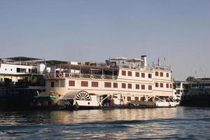 battello a vapore sul Nilo foto