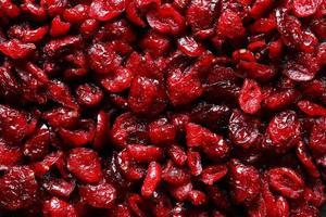 fotografia di mirtilli rossi per l'illustrazione di cibo