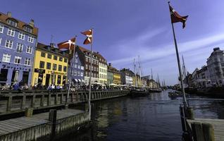 """""""nyhavn"""" la zona più popolare di Copenaghen."""