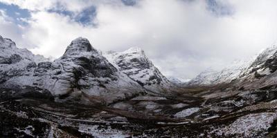 valle di glencoe, scozia, regno unito
