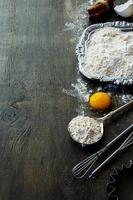 ingredienti da forno