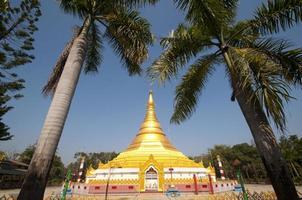 monastero d'oro a lumbini, nepal