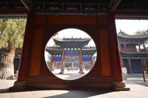 Tempio del Buddha gigante foto