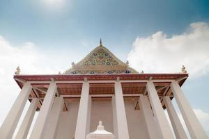 Wat Chaloem Phrakiat Worawihan Temple, Nontaburi, Tailandia