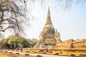 Wat Phra Si Sanphet Temple ad Ayutthaya Thailandia