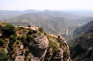 monastero di montserrat, barcellona, spagna foto