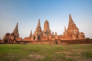 Wat chaiwatthanaram tempio, ayutthaya, thailandia
