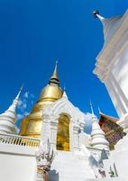 tempio di wat suan dok a chiang mai, thailandia
