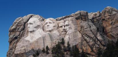 Mount Rushmore (Washington piangendo) foto