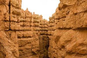 pareti del bryce canyon orizzontali